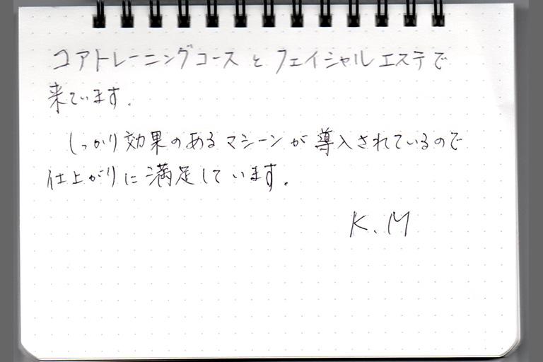 K.M様 50代